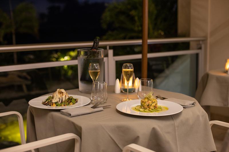 Delectable resort dining in Sint Maarten